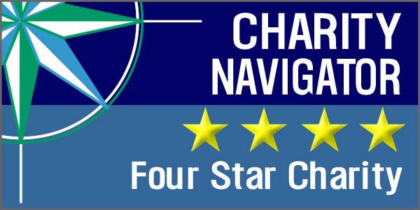 Charity Navigator - 4 Stars