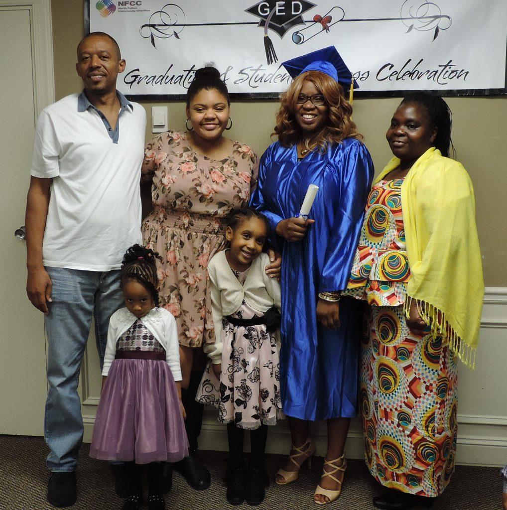 Sandra & family 2