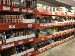 Food Pantry shelving