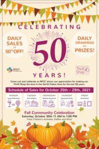 Thrift Shop 50th Celebration